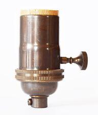 Lamp Socket - Oil-Rubbed Bronze Light Socket  5-Pack Vintage Pendant Industrial
