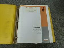 Case 721B  Front End Wheel Loader Backhoe Parts Catalog Manual Manual 89381