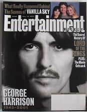 GEORGE HARRISON 1943-2001 Dec. 14, 2001 ENTERTAINMENT WEEKLY Magazine LOTR