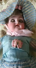 antique china doll 17 inches (1895) last valued at £685