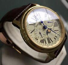 Men's Genuine Frederique Constant Moonphase Watch Triple Date Fc-270x4p4/5/6