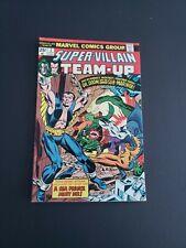 SUPER-VILLAIN TEAM-UP #  2- (1975) DR. DOOM and the SAVAGE SUB-MARINER