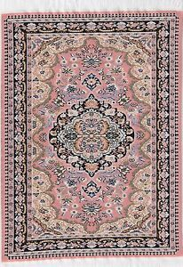 1:12 Scale 27cm x 20cm Woven Turkish Rug Tumdee Dolls House Miniature Carpet Plj
