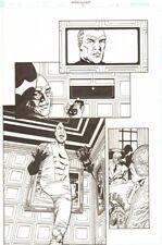 Establishment #6 p.5 - Jon Drake 'Walking Dead' Artist - by Charlie Adlard Comic Art