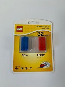 Genuine Lego USB Flash Drive 32 GB Brick | New and Sealed