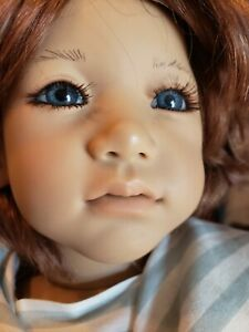 Signed by Annette Himstedt ENZO doll realistic looking