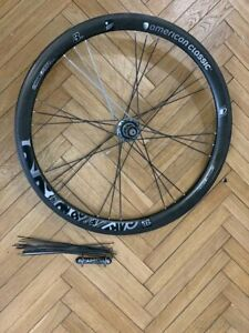 American classic 700c rear carbon wheel + American classic front hub with spokes