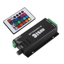 24 Key Music IR Remote Controller Sound Sensitive for RGB LED Strip Light Q1