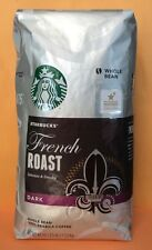 Big Size Starbucks FRENCH ROAST DARK Whole Bean Coffee 40 Oz/1.13kg