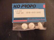 Ko Propo 0509 Gear Set (PS-901 BH) vintage / Yokomo Losi Associated RC10