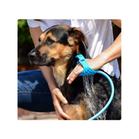 Pet Bathing Tool Shower Sprayer and Scrubber in-One Bath