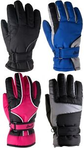 Kids Ski Gloves Weatherproof Gloves Youth Outdoors Snow Winter Gloves Girls Boys