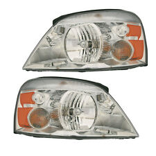 04-07 Ford Freestar/Monterey Headlight Assembly Driver Passenger Side Pair