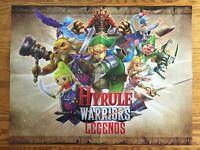 Official Hyrule Warriors Legends / Fire Emblem Fates 3DS Poster Authentic Zelda