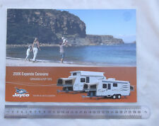 2006 Jayco Expanda Caravan & Pop Top Sales Brochure