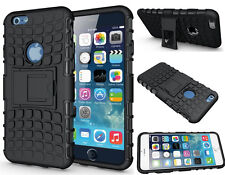 Shockproof Heavy Duty Stand Armour Case Cover for iPhone 5/5s/SE Black