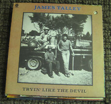 FREE 2for1 OFFER-James Talley ‎– Tryin' Like The Devil : Capitol Records ‎– ST-1