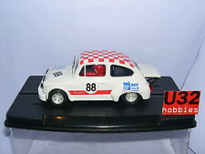 Spielzeug Qq Scalextric Fiat 600 Abarth #69 Rot pack 40 Jubiläum Ref 6904