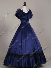 Victorian Southern Belle Old West Winter Holiday Gown Fancy Dress Theater 127 S