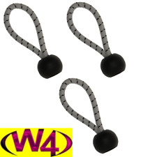 W4 Ball Loops 75MM X 3 CAMPING TENT AWNING & CARAVAN ACCESSORIES