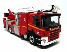 Firefighters Truck SCANIA P320 basket  Fire 1:43 Diecast model car Ixo Salvat