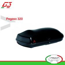Box Bauli Portabagagli da tetto G3 Pegaso 320 Nero metalizzato 240 litri