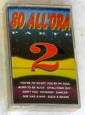 VARIOUS - 80 ALL'ORA parte 2 - Musicassetta Casssette Tape Sealed