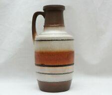 Mid Century Modern Scheurich Karamik W Germany Pottery Vase 404-26