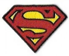Mini Superman Shield Embroidered Patch / Iron On Applique, Superhero, DC Comics