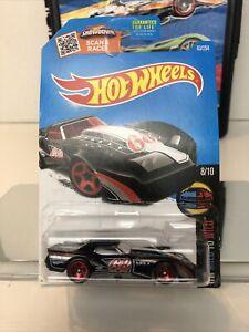 2016 Hot Wheels HW Mild to Wild #8/10 '76 Greenwood Corvette Black 1:64