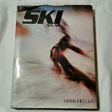 The World Ski Atlas Mark Heller HC/DJ 1978 1st edition