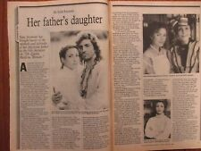 April-1993 Philadelphia TV Magaz(JANE SEYMOUR/DR. QUINN MEDICINE WOMAN/JOE LANDO