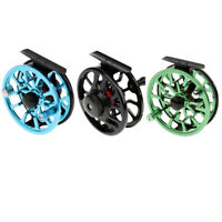 3/4 5/6 WF CNC Machined Aluminum Alloy Fly Fishing Reel 2+1BB Right Left-Handed