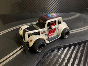 PIONEER SLOT CAR UNBOXED FORD COUPE LEGENDS RACER COMPATIBLE WITH SCALEXTRIC DPR