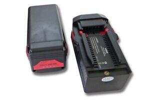 2x Batteria 3000mAh 36V nero per Hilti TE6A, TE 6A, TE7A, B36, B36V