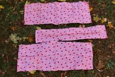 Vintage Antique Flour Feed Grain Sacks Fabric Pink Flowers