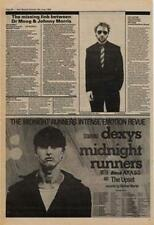 Dexys Midnight Runners with Black Arabs Tour Advert NME Cutting 1980