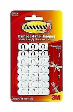 Command 17026 Poster Hanging Strips 20 Strips - White