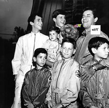 "JERRY LEWIS Family Photo - Original 8 x 10"" print"