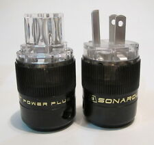 SONAR QUEST CRYO Ag Audio Grade Silver plated IEC plug + US main plug sonarquest