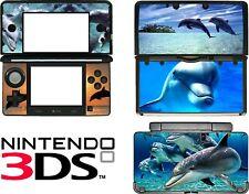 NINTENDO 3ds N3DS Delfines carcasa de Vinilo pegatina