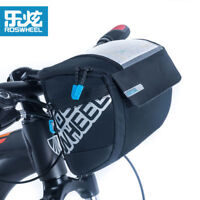 Roswheel Waterproof Bike Bag Bicycle Cycling Handlebar Front Basket Pannier Pack