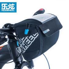 Roswheel Waterproof Bike Cycling Handlebar Bag 3L Bicycle Front Basket Bag black
