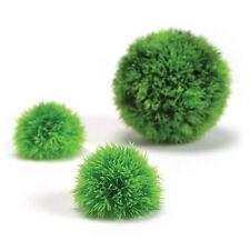 Biorb Pack De 3 Moss bolas de plástico Artificial Plantas Arrecife una verdadera fácil instalación