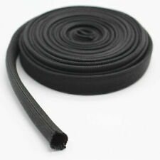 Car Auto Black Heat Protector Woven Sleeve Insulated Wire Hose Cover Wrap Tube