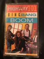 New Unopened Sealed Highway 101 Bing Bang Boom Cassette Tape