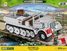 COBI Sd.Kfz. 9 Famo / 2522 / 412 blocks WWII Small Army German half - track