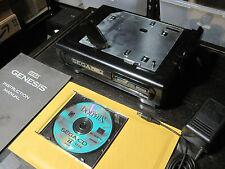 Complete SEGA CD SYSTEM Model 1 Front Loader Console Rare JVC Variant w New Belt