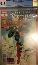 Avenging Spider-Man #9 CGC 9.6 ( 1st app Captain Marvel ) Key Issue