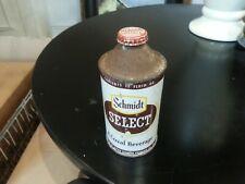 New ListingSchmidt'S Select Cone Top Beer Can Schmidt Brewing, St. Paul, Mn Nice Cap